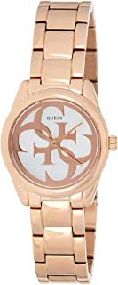 Guess Womens Quartz Watch, Analog Display and Stainless Steel Strap W1147L3