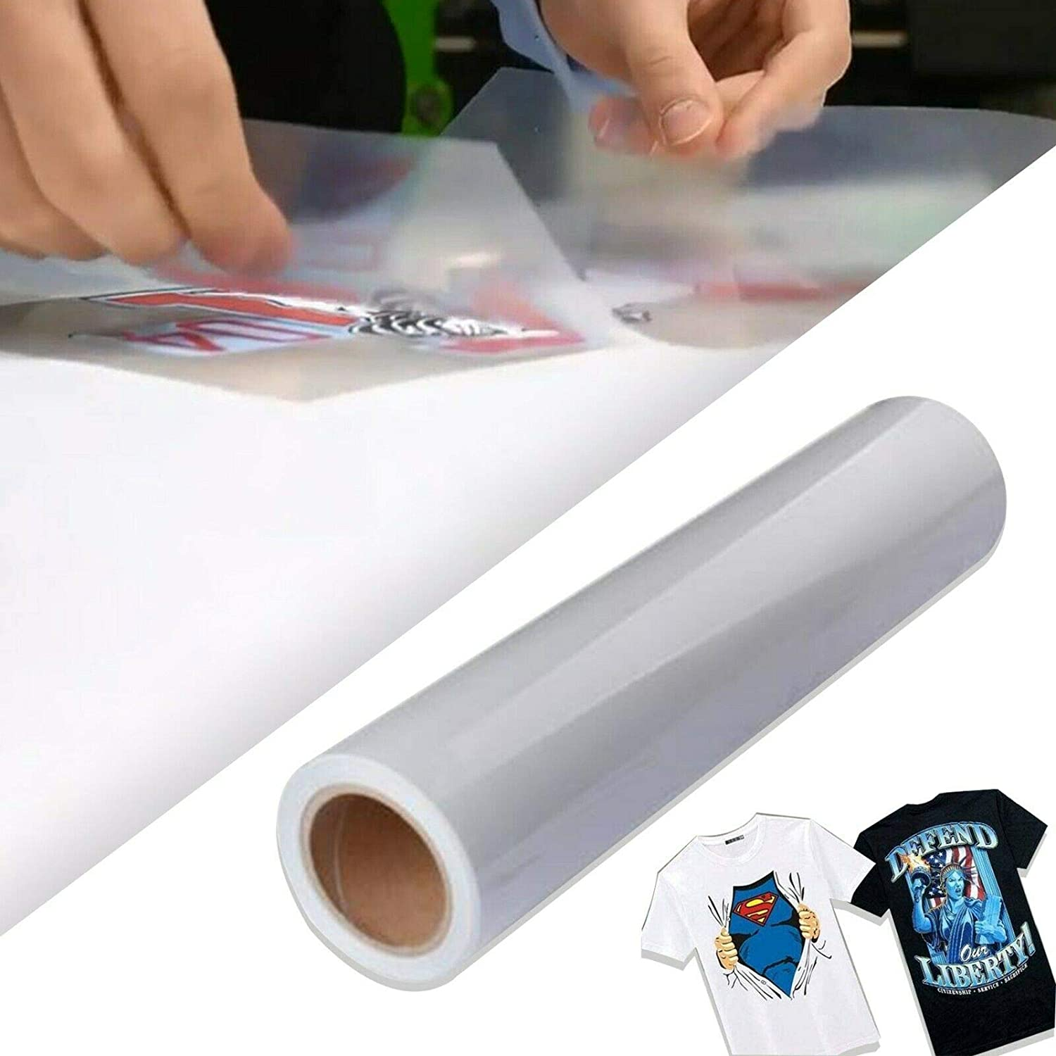 Heat Inventory cleanup selling sale Press Transfer Clear Tape Roll for Printable 24