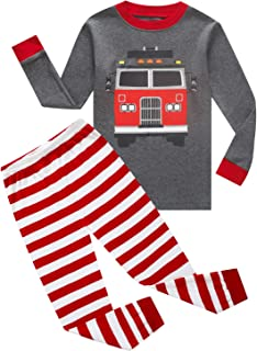 fire truck pajamas 4t