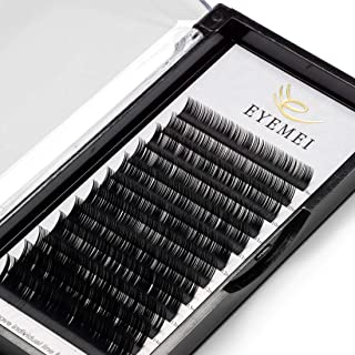 Eyelash Extensions 0.20mm C Curl 9-15 Mixed Lash Extension Light Lashes Individual Eyelashes Black Faux Mink Lashes Extensions Professional Perfect Suppliers for Salon Use by EYEMEI (0.20-C-Mix)