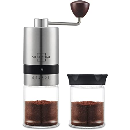 Tritacaff/è Manuale,SLN Macina Caffe Vintage,Macina Caffe Regolabile Per Un Caff/è Fresco Perfetto marrone