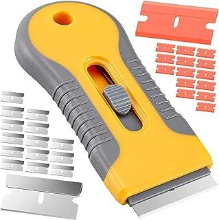 1 lame 81125 Verre et plaque de cuisson Vitrocéramique Grattoir Nettoyeur couteau