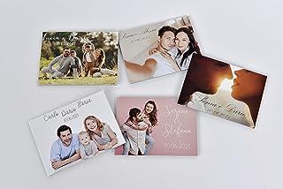 Bomboniera per matrimonio calamita personalizzata con la tua foto 10 pezzi