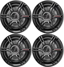 """$62 » Sponsored Ad - 2 Pairs (Qty 4) of Crunch 6.5"""" 3-Way 300W Max Power Full Range Automotive Speakers"""