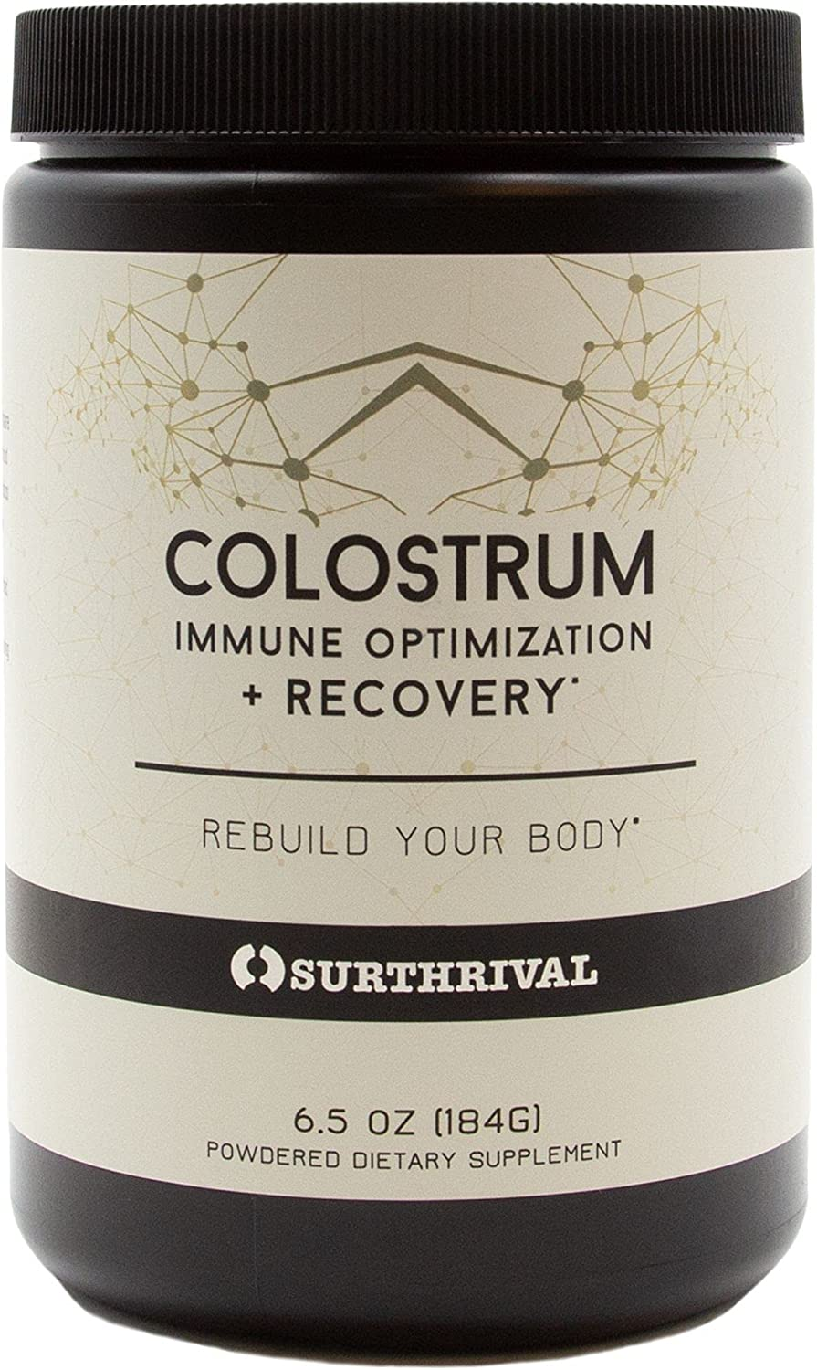 Directly managed store Surthrival: Colostrum Powder 6.5oz Optimization Nippon regular agency Immune Reco