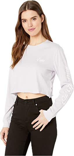 Brush-Off Long Sleeve Crop