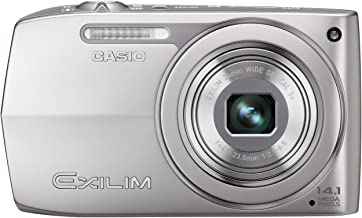 Casio EX-Z2000 14.1MP Digital Camera with 5x Ultra Wide Angle Zoom with CCD Shift Image Stabilization and 3.0 inch LCD (Silver)