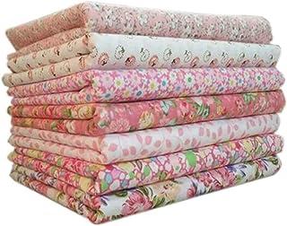 Wohlstand 7 Pezzi Confezione Stoffa,100% Tessuto di Cotone,Cucito Fai da Te, Quilting, Patchwork,50cm * 50cm per Cucire Qu...