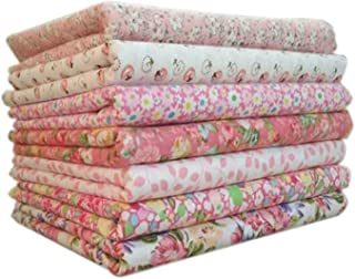Wohlstand 7pcs / Set Tissu en Coton pour la Couture Quilting Patchwork Home Textile Série Couture Quilting Fabric Patchwor...