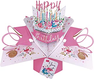 Second Nature Pop Up Birthday Card with Cake