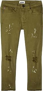 Hudson Jeans 女童及踝紧身牛仔裤,