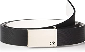 Calvin Klein Men's 30mm Textured Leather Belt