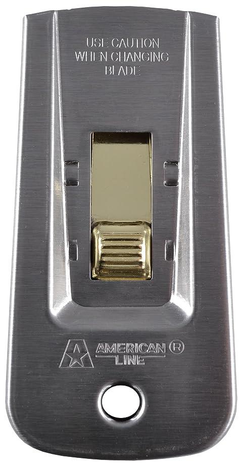 American Safety Razor 66-0445 Heavy-Duty Window Scraper with 5 Blades