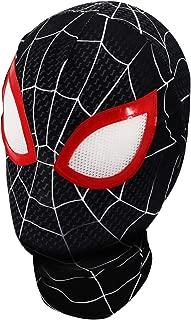 Superhero Premium Spiderman Hero mask, Superhero Costume Role-Playing Props Elastic Lycra Fabric Material.
