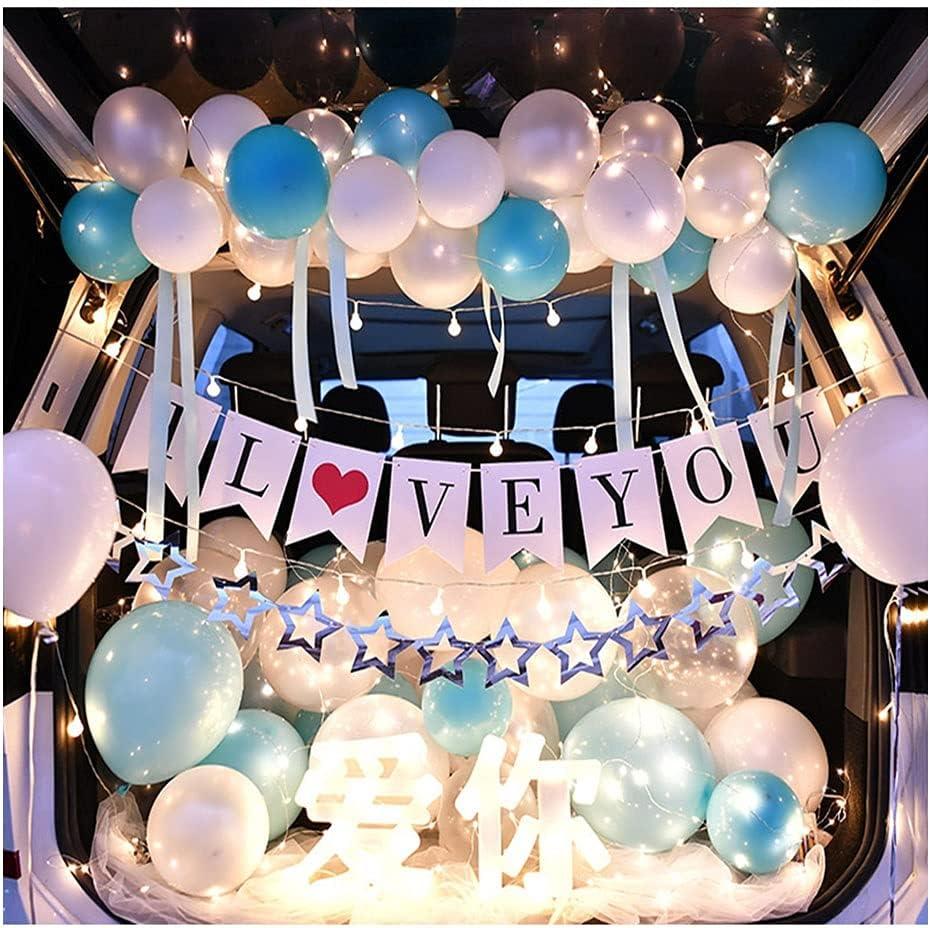 ASKLKD Car Trunk Surprise Decoration Marriage Proposal Layout Ca