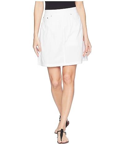 Jag Jeans On The Go Poplin Skort (White) Women