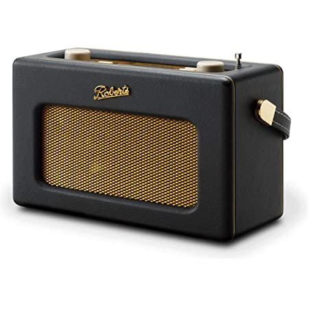 Roberts Radios REV-ISTREAM3 Retro DAB/DAB+ FM Wireless Portable Digital Bluetooth Radio Alexa Voice Controlled Smart Speaker Revival iStream 3 - Black