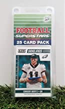 Philadelphia Eagles- (25) Card Pack NFL Football Different Eagle Superstars Starter Kit! Comes in Souvenir Case! Great Mix of Modern & Vintage Players for the Super Eagles fan! By 3bros