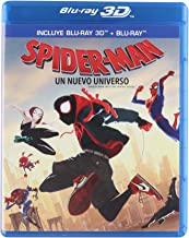 Spider-Man Un Nuevo Universo 3D [SPIDER-MAN INTO THE SPIDER-VERSE 3D] Blu-ray 3D + Blu-ray [Languages: English/ Spanish/ French/ Cantonese/ Mandarin/ Thai] REGION FREE