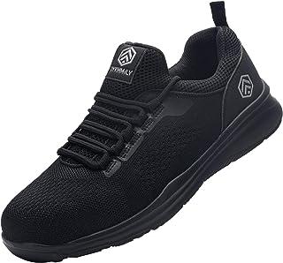 DYKHMILY Chaussure de Securité Homme Femme Imperméable Legere Embout Acier Baskets de Sécurité Chaussures de Travail