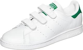 adidas, Men Stan Smith Shoe, White/Green, 11.5 US