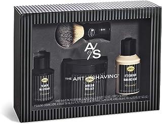 The Art Of Shaving 4 Elements Shaving Full Size Kit -Unscented: Pre-Shave Oil 60ml + Shaving Cream 150ml + After-Shave Bal...