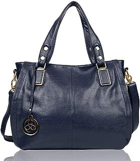 EGOGO Ladies Women's Tote Bag Leather Shoulder Bag Shopping Handbag E522-6