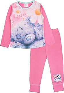 5aa7df8b9aa42 Me To You Girls Kids Tatty Teddy Full Length Pyjama Set Pjs Size UK 3-