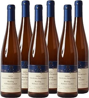 Deidesheimer Herrgottsacker Riesling Kabinett Weißwein Pfalz 2019 trocken 6x 0.75 l