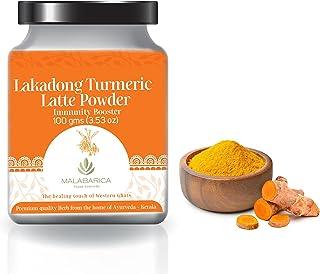 MALABARICA Vegan Ayurveda - Lakadong Turmeric Latte - (Immunity Booster) - 100 gm
