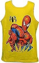 Spiderman Kids Tank Top Yellow X-Small