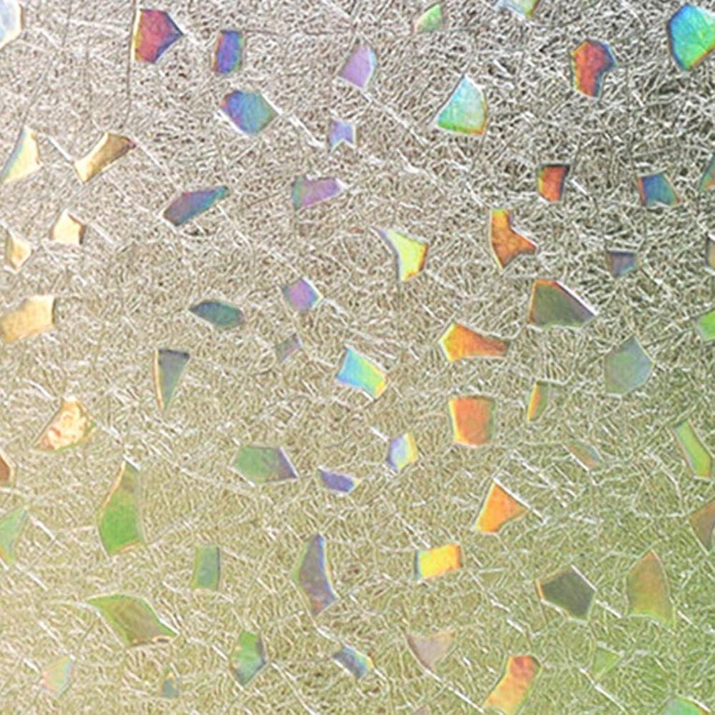 繁栄する解任言い直すHANSHAN 窓フィルム プライバシーウィンドウフィルム、キッチンのドアバルコニー35Inch×6Feetをスライディングなしのり窓加飾フィルム静的しがみつくステンドグラスの窓のフィルム半透明 (Color : C, Size : 47inch × 6feet)