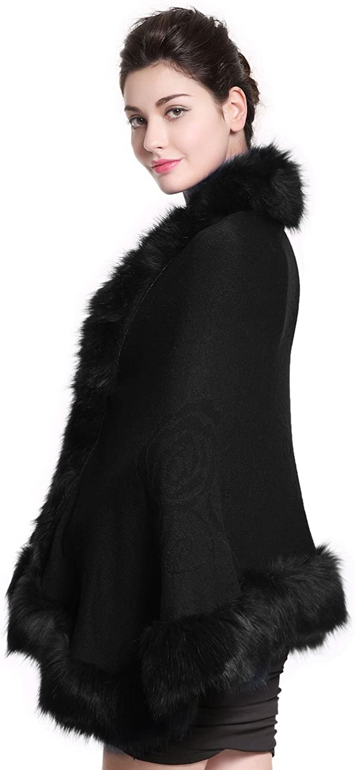 Faux Fur Special price Shawl Wrap Cape Stole Wedding with Winter Bridal shipfree Shrug