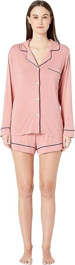 Gisele - The Long Sleeve Short Boxed Pajama Set