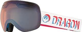 Dragon Alliance X1 Ski Goggles, Blue, Large, Verge/Luma Flash Blue Lens