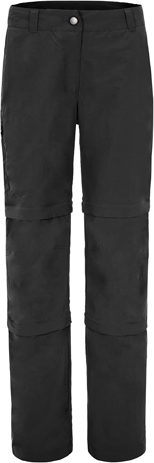 (23, black  black  black)  maier sports Trousers Yesa three sections separated with Zip for Women