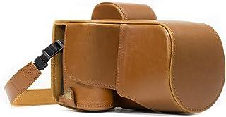 MegaGear MG1122 Sony Alpha A7S II, A7R A7 II (28-70mm) Deri Kamera, Açık Kahve