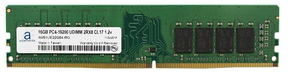 敬礼革命的税金Adamanta 16?GB ( 1?x 16gb )デスクトップメモリアップグレードfor Dell Optiplex 3050?Small Form Factor ddr4?2400?MHz pc4?–?19200?Unbuffered DIMM 2rx8?cl17?1.2?V RAM DRAM
