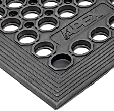 Notrax T30 Competitor Workstation Mat, for Home or Business, 3' X 3' Black