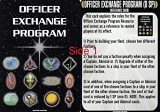 Star Trek Attack Wing a Matter of Honor Officer Exchange Program Card with Reference Card