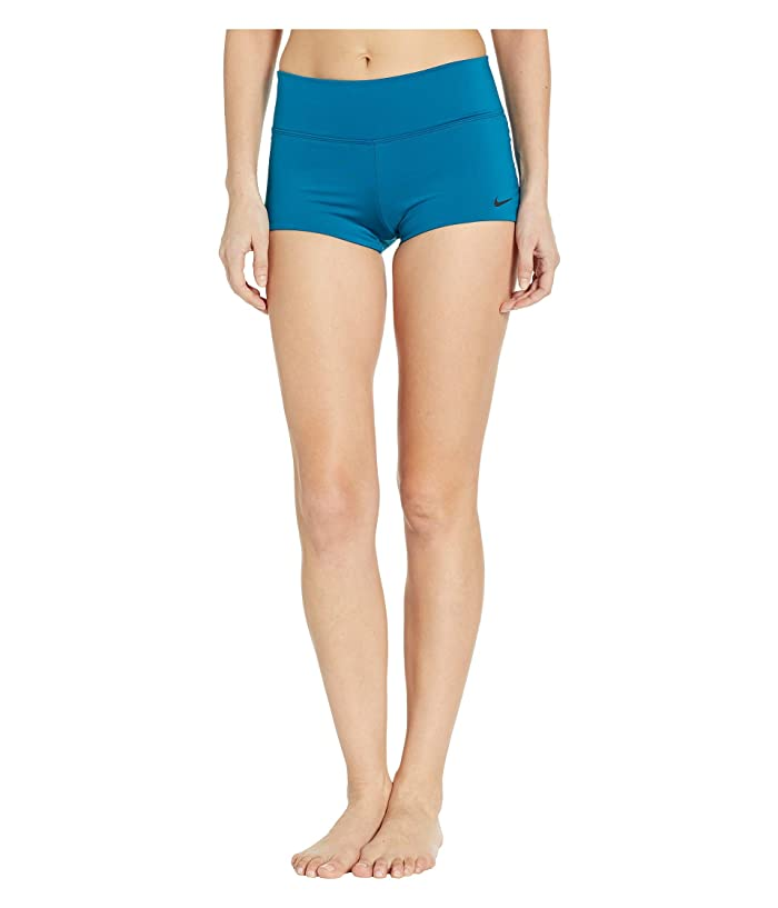 Nike Solid Kick Shorts (Green Abyss) Women