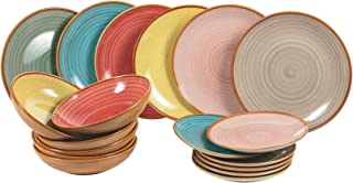 Service de table Siena 18 pièces