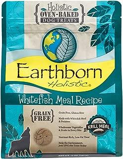 Earthborn Holistic Whitefish Meal Recipe Grain Free Oven-Baked Dog Treats, 14 oz.