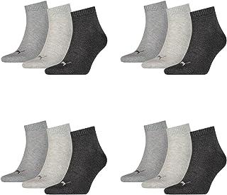 PUMA Men's Quarters 12 Pack Sports Socks