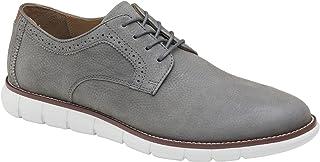 Johnston & Murphy Men's Holden Plain Toe Classic Dress Shoe | Genuine Leather | Lightweight Athletic Construction