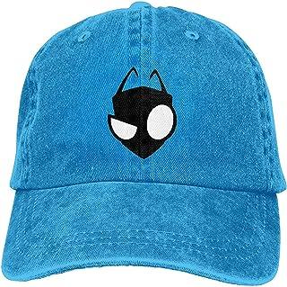 Fssatung Invader Zim Gir Men's & Women's Cool Hat Adjustable,Blue