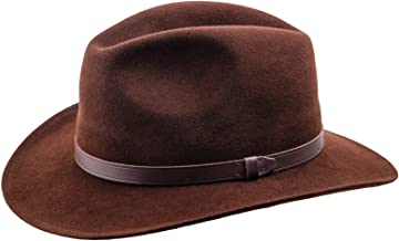 Sterkowski Redwood Wool Felt Wide Brim Fedora Hat