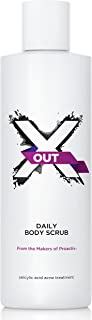 X Out Daily Body Scrub, 8 Fluid Ounce