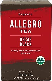 Allegro Tea, Organic Decaf Black Tea Bags, 20 ct