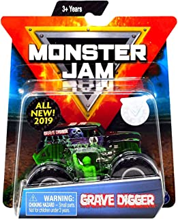 Grave Digger Monster Jam Diecast with Figure & Poster